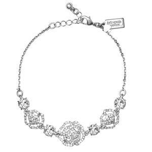 KATE SPADE • Silver Crystal Rose Bracelet